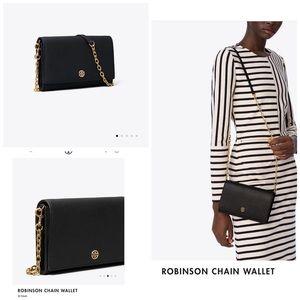 Tony Burch Robinson Chain Wallet Black